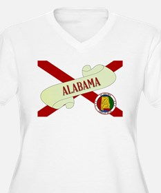 Alabama Scroll Plus Size T-Shirt