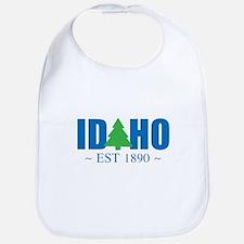 IDAHO - EST 1890 Bib