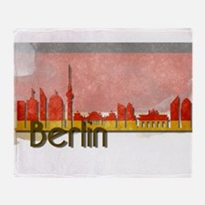 Berlin Germany -Deutschland Throw Blanket