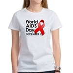 World AIDS Day Women's T-Shirt