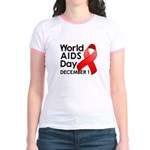World AIDS Day Jr. Ringer T-Shirt