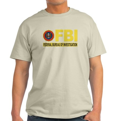 FBI Federal Bureau of Investigation for Dark T-Shi