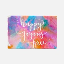 Happy Joyous Free Magnets