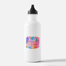 Happy Joyous Free Water Bottle