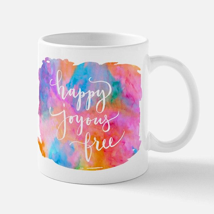 Happy Joyous Free Mugs