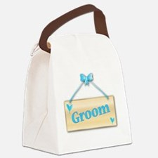 Cool Satin Canvas Lunch Bag