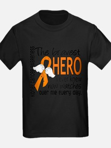 Bravest Hero I Knew Kidney Cancer T-Shirt