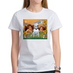 Cherubs / Bull Terrier Women's T-Shirt