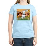 Cherubs / Bull Terrier Women's Light T-Shirt