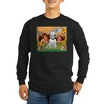 Cherubs / Bull Terrier Long Sleeve Dark T-Shirt