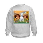 Cherubs / Bull Terrier Kids Sweatshirt