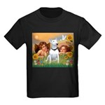 Cherubs / Bull Terrier Kids Dark T-Shirt