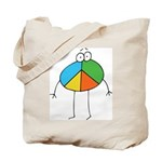 Peace Cartoon Tote Bag