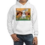 Cherubs / Bull Terrier Hooded Sweatshirt
