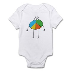 Peace Cartoon Infant Creeper