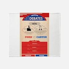 1976 Debate Throw Blanket