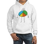Peace Cartoon Hooded Sweatshirt