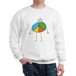 Peace Cartoon Sweatshirt