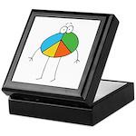 Peace Cartoon Keepsake Box