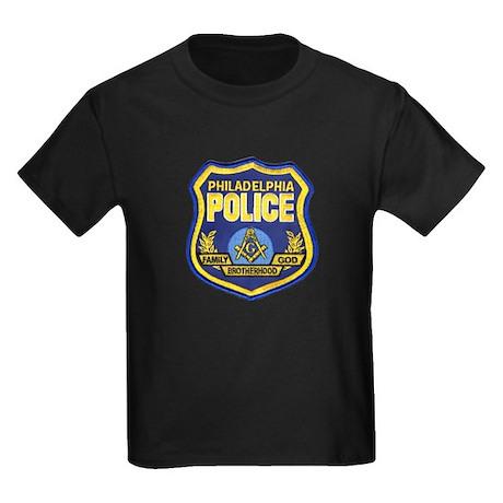 Philly PD Masons Kids Dark T-Shirt