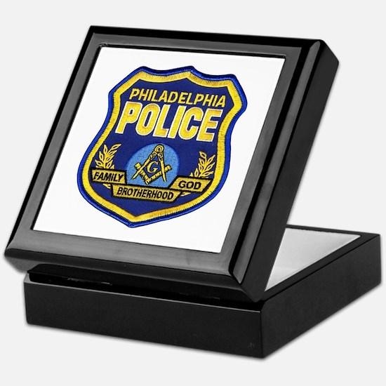 Philly PD Masons Keepsake Box