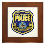 Philly PD Masons Framed Tile