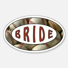 BASEBALL BRIDE Decal