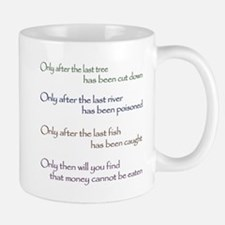 Cree Indian Prophecy Mugs