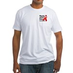 World AIDS Day Fitted T-Shirt