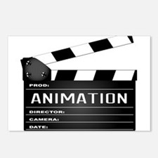 Animation Clapperboard Postcards (Package of 8)