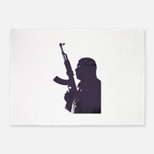 War on Terrorsim 5'x7'Area Rug