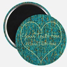 Personalized - Heart Note* Magnets