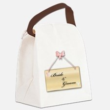Satin Canvas Lunch Bag