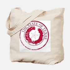 Unique Red texas seal Tote Bag