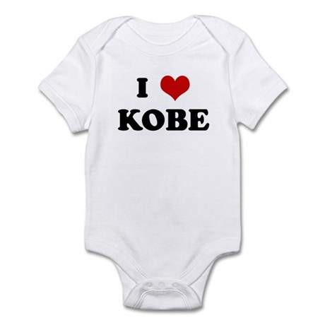 I Love KOBE Infant Bodysuit