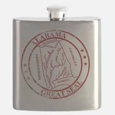 Cute Red state Flask