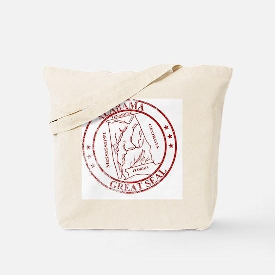 Cute State of alabama Tote Bag