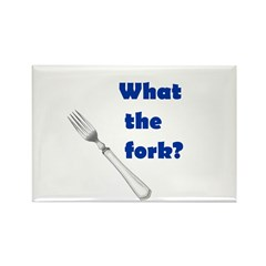 WHAT THE FORK? Rectangle Magnet (10 pack)