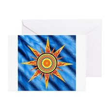 Solar Flare Symbol Greeting Cards (Pk of 10)