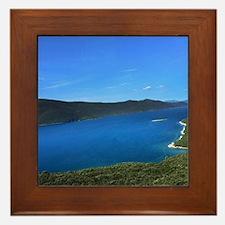 Unique Ellis Framed Tile