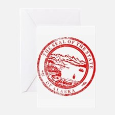 Alaska Seal Stamp Greeting Cards
