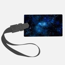 White and nerdy Luggage Tag