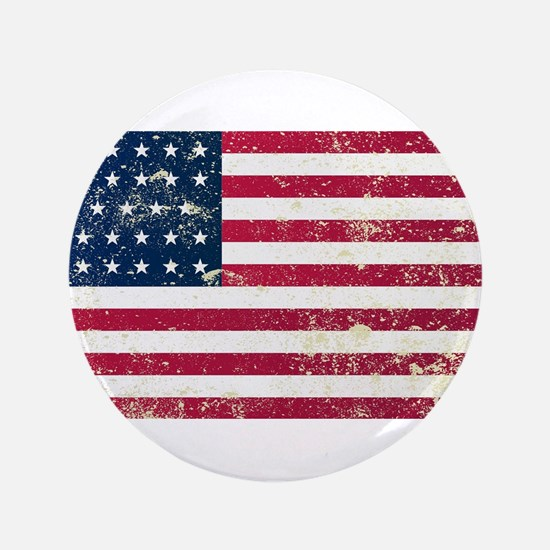 "Union Civil War Flag 3.5"" Button (100 pack)"