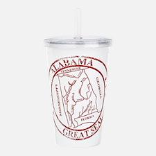 Alabama State Seal Sta Acrylic Double-wall Tumbler
