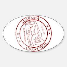 Alabama State Seal Stamp Decal