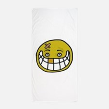 Bizarre Smile Beach Towel