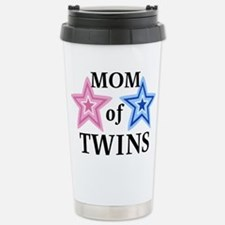 Unique Mother of twins Travel Mug
