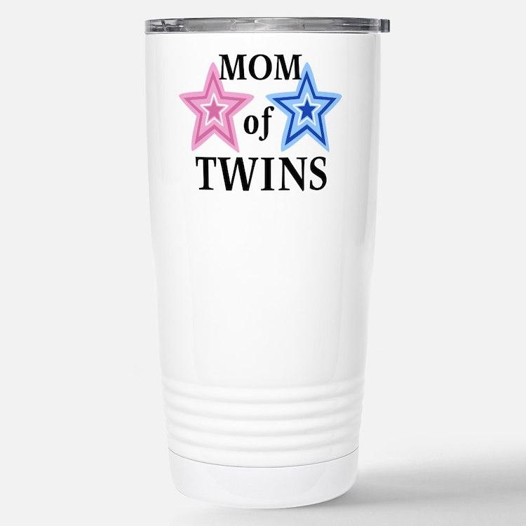 Cute Mom twins Travel Mug