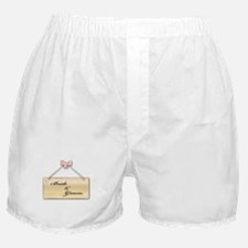 Bride and Groom Boxer Shorts