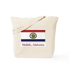 Mobile AL Flag Tote Bag
